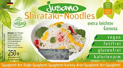 Jusano Shirataki Noodles - Spaghetti Art, 5er Pack (5 x 250 g) - 1