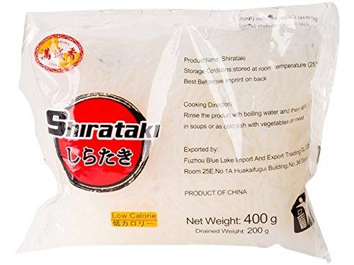 "Konjak Nudeln Shirataki ""Nudeln-dünn"" aus Konjakmehl (10 x 400 g) -"