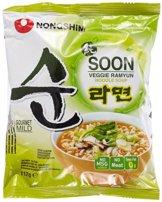 Nong Shim Instantnudeln, Veggie Ramyun, mild, 20er Pack (20 x 112 g) - 1