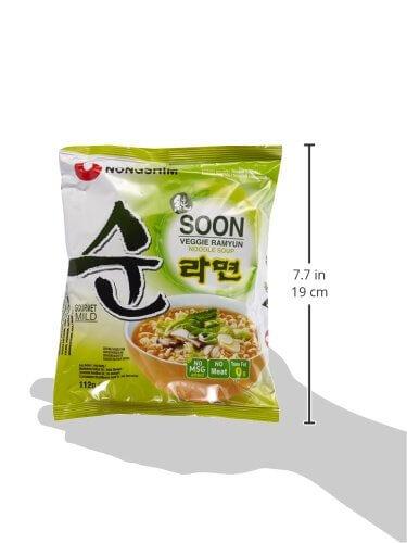 Nong Shim Instantnudeln, Veggie Ramyun, mild, 20er Pack (20 x 112 g) - 5