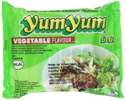 Yum Yum Instantnudeln mit Gemüsegeschmack, 30er Pack (30 x 60 g) - 4