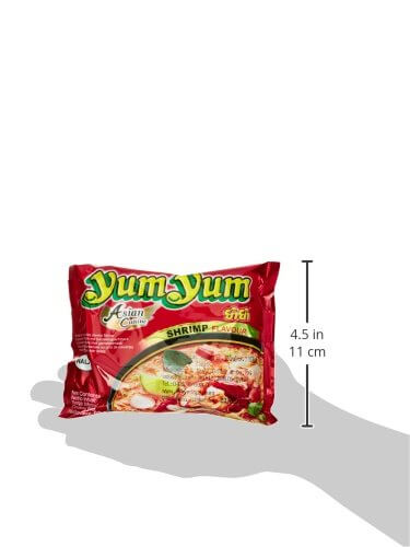 Yum Yum Instantnudeln, Shrimps, 30er Pack (30 x 60 g) - 5