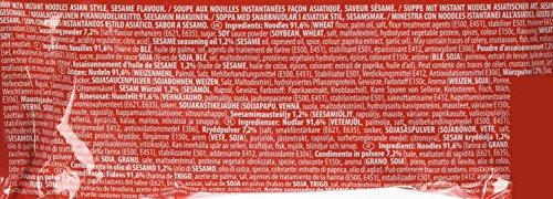 Nissin Demae Ramen Sesam, 5er Pack (5 x 100 g Beutel) - 4