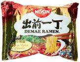 Nissin Demae Ramen Spicy, 5er Pack (5 x 100 g Beutel) - 1
