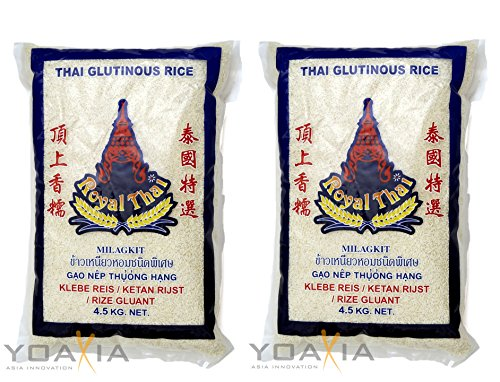 2er-SPARPACK - Royal Thai [2x 4,5kg] Klebreis, Glutinous Rice, Klebereis - 1