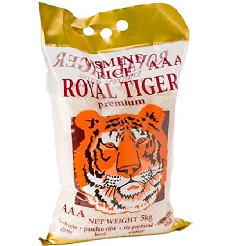 [ 5kg ] ROYAL TIGER Jasmin Duftreis / Jasmin Reis, ganz / Jasmine Rice AAA - 1