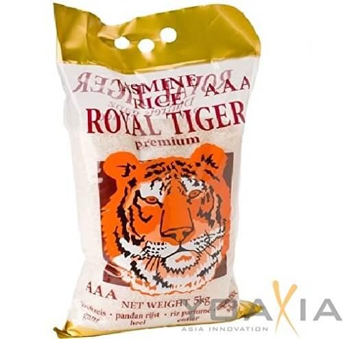 [ 5kg ] ROYAL TIGER Jasmin Duftreis / Jasmin Reis, ganz / Jasmine Rice AAA - 2