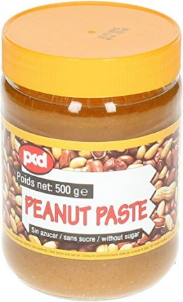 [ 6x 500g ] pcd Erdnusspaste OHNE ZUCKERZUSATZ / Peanut Paste without added sugar - 1