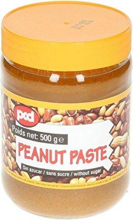 [ 6x 500g ] pcd Erdnusspaste OHNE ZUCKERZUSATZ / Peanut Paste without added sugar - 1