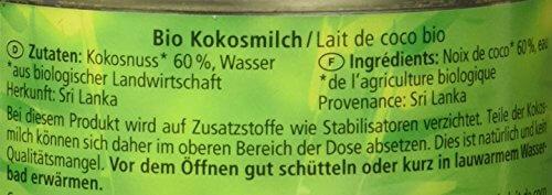 Alnatura Bio Kokosmilch, vegan, 12er Pack (12 x 200 ml) - 4