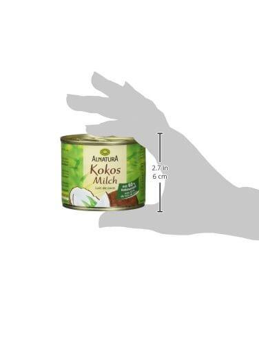 Alnatura Bio Kokosmilch, vegan, 12er Pack (12 x 200 ml) - 7