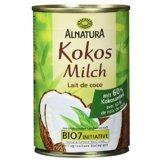 Alnatura Bio Kokosmilch, vegan, 6er Pack (6 x 400 ml) - 1