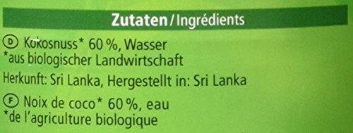 Alnatura Bio Kokosmilch, vegan, 6er Pack (6 x 400 ml) - 4