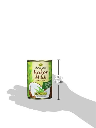 Alnatura Bio Kokosmilch, vegan, 6er Pack (6 x 400 ml) - 7
