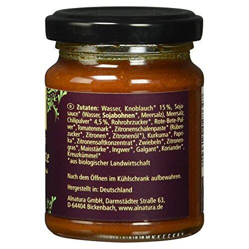 Alnatura Bio Rote Thai-Curry-Paste, 6er Pack (6 x 135 g) - 5