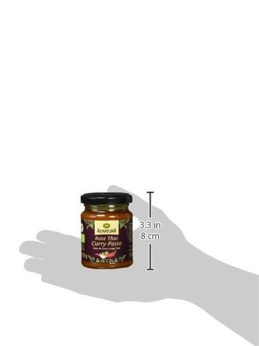 Alnatura Bio Rote Thai-Curry-Paste, 6er Pack (6 x 135 g) - 7