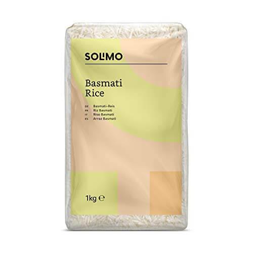 Amazon- Marke: Solimo  Basmati- Reis 4er-Pack (4x1kg) - 1
