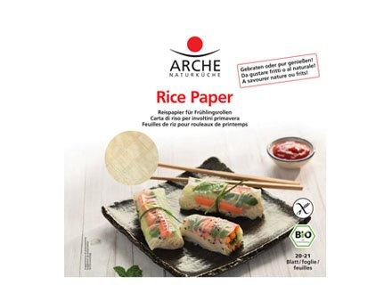 Arche Reispapier für Frühlingsrollen (150 g) – Bio -