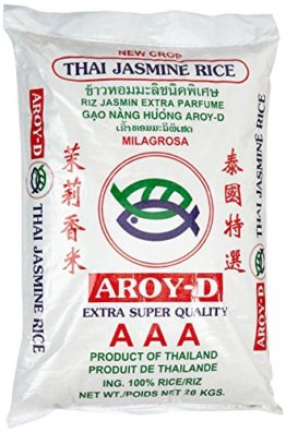 AROY-D Duftreis Langkorn 100%, 1er Pack (1 x 20 kg) - 1