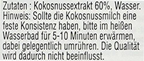 AROY-D Kokosmilch (Fettgehalt ca. 19% - Ideal zum Kochen, Backen, für Desserts und Cocktails) 8er Vorteilspack à 500ml - 3