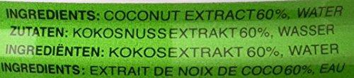 Aroy-D Kokosnussmilch, Fettgehalt: ca. 17%, 12er Pack (12 x 400 ml Packung) - 4