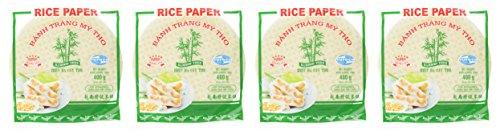 BAMBOO TREE Reispapier, rund, 22 cm, 4er Pack (4 x 400 g) - 2