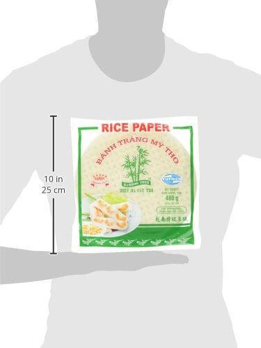 BAMBOO TREE Reispapier, rund, 22 cm, 4er Pack (4 x 400 g) - 6