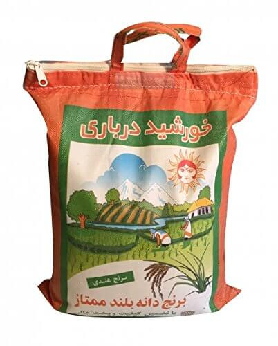 Basmati Reis Sonne Extra Lang Khorshid Darbari 10 KG super langkorniger Reis basmatirice Traditional Basmati, Indien, Himalaya - 2