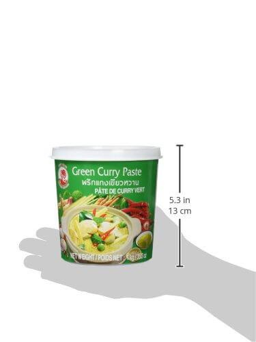 Cock Currypaste, grün, 1er Pack (1 x 1 kg Packung) - 6