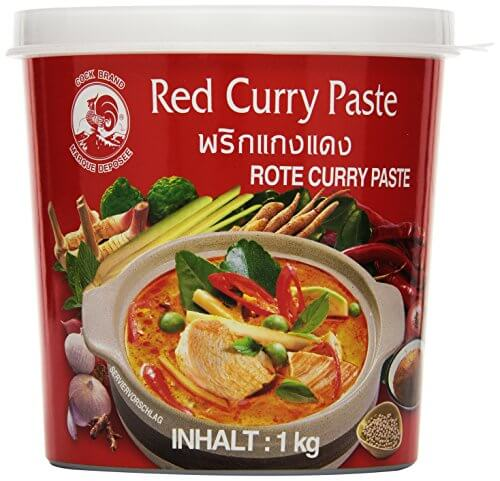 Cock Currypaste, rot, 1er Pack (1 x 1 kg Packung) - 1