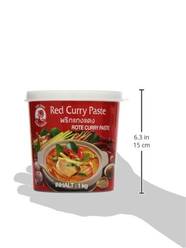 Cock Currypaste, rot, 1er Pack (1 x 1 kg Packung) - 6