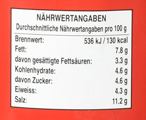 Cock Currypaste, rot, 4er Pack (4 x 400 g Packung) - 3