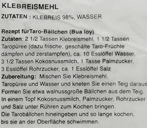 Cock Klebreismehl, 10er Pack (10 x 400 g) - 4
