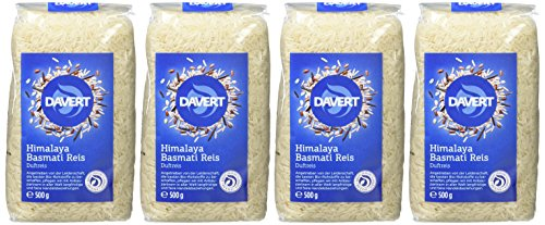 Davert Himalaya Basmati Reis weiß, 4er Pack (4 x 500 g) - Bio - 2