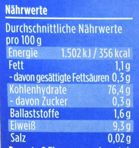 Davert Himalaya Basmati Reis weiß, 4er Pack (4 x 500 g) - Bio - 3