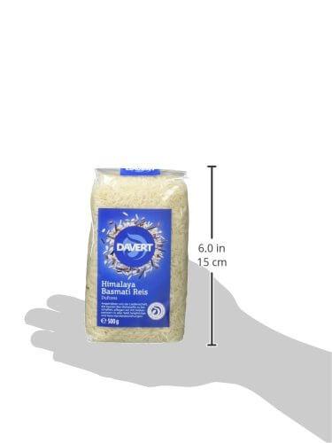 Davert Himalaya Basmati Reis weiß, 4er Pack (4 x 500 g) - Bio - 5
