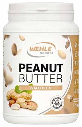Erdnussbutter Natürliche Peanutbutter Ohne Zusätze. Erdnussmus Ohne Salz, Zucker, Palmfett - Wehle Sports (Smooth, 1 KG) - 1