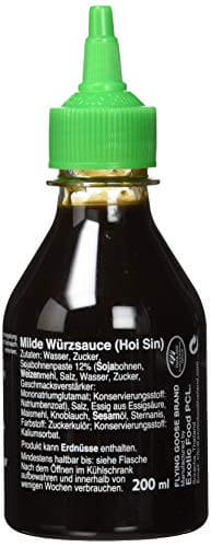 Flying Goose Hoi Sin Sauce, PET-Flasche, 4er Pack (4 x 200 ml) - 5