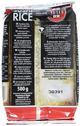 ITA-SAN Sushi Reis, Rundkorn, 500 g - 4