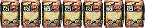 ITA-SAN Sushi Reis, Rundkorn, 7er Pack (7 x 500 g) - 2