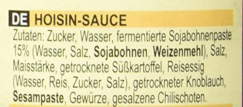 Lee Kum Kee Hoi Sin Sauce (aus China, süß, pikant, ohne Glutamat, ohne Konservierungsstoffe, ohne Farbstoffe, vegan) 1 x 165 ml - 3
