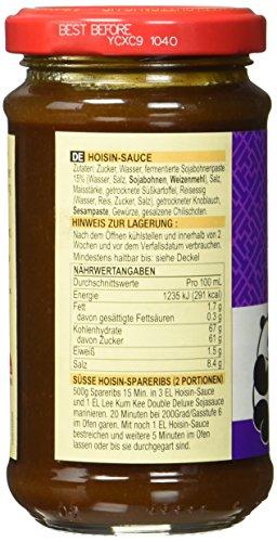 Lee Kum Kee Hoi Sin Sauce (aus China, süß, pikant, ohne Glutamat, ohne Konservierungsstoffe, ohne Farbstoffe, vegan) 1 x 165 ml - 5