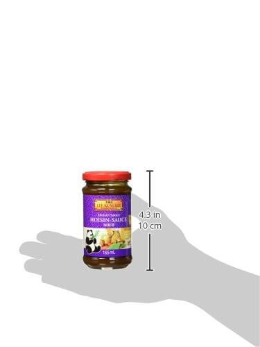 Lee Kum Kee Hoi Sin Sauce (aus China, süß, pikant, ohne Glutamat, ohne Konservierungsstoffe, ohne Farbstoffe, vegan) 1 x 165 ml - 6