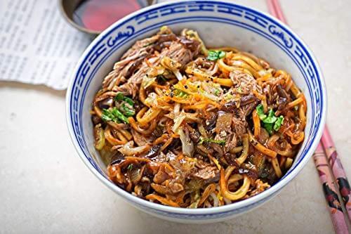 Lee Kum Kee Hoi Sin Sauce (aus China, süß, pikant, ohne Glutamat, ohne Konservierungsstoffe, ohne Farbstoffe, vegan) 1 x 165 ml - 8