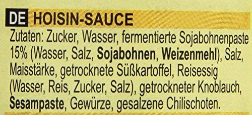 Lee Kum Kee Hoi Sin Sauce (aus China, süß, pikant, ohne Glutamat, ohne Konservierungsstoffe, ohne Farbstoffe, vegan) 6er Pack (6 x 165 ml) - 3