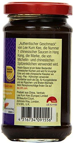 Lee Kum Kee Hoi Sin Sauce (aus China, süß, pikant, ohne Glutamat, ohne Konservierungsstoffe, ohne Farbstoffe, vegan) 6er Pack (6 x 165 ml) - 4