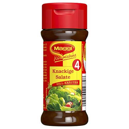 Maggi Würzmischung 4 Knackige Salate, 8er Pack (8 x 60 g) - 4