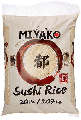 Miyako Sushi Reis, Rundkorn, 1er Pack (1 x 9.07 kg) - 1