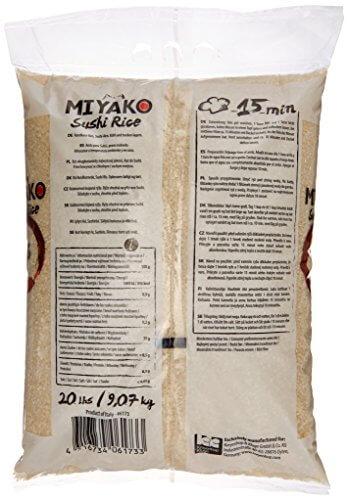 Miyako Sushi Reis, Rundkorn, 1er Pack (1 x 9.07 kg) - 4