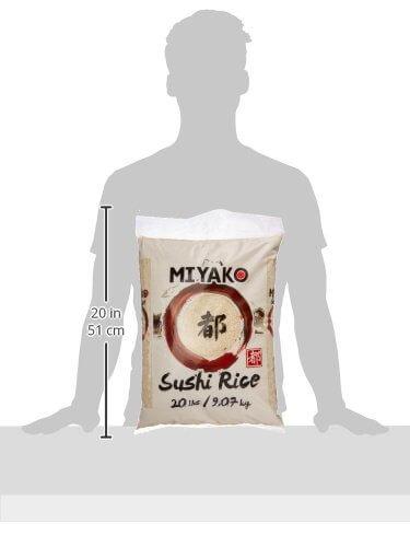 Miyako Sushi Reis, Rundkorn, 1er Pack (1 x 9.07 kg) - 5